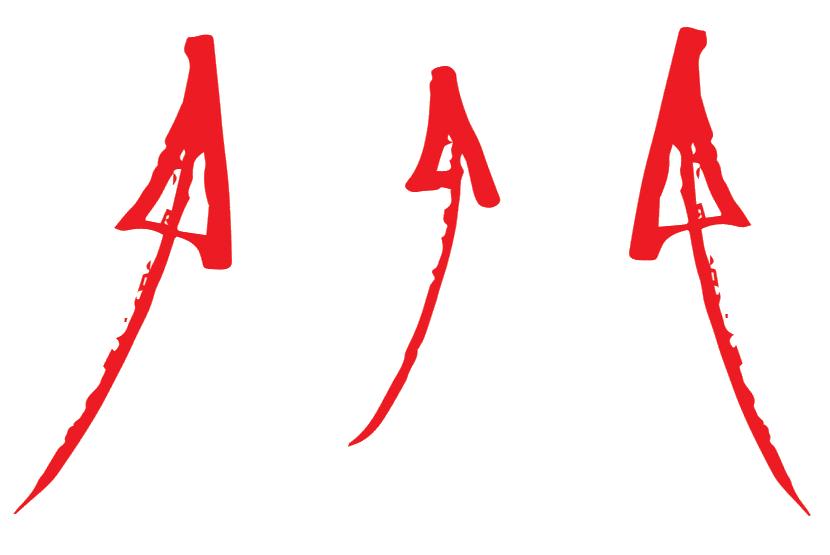 drei rote Pfeile nach oben