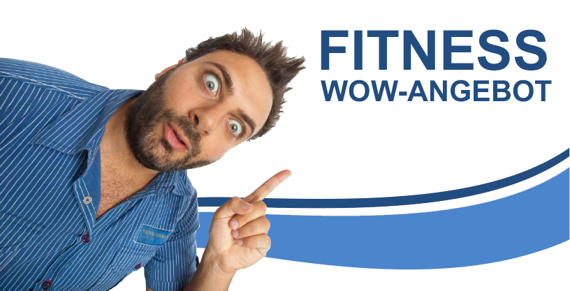 Fitness WOW-Angebot in Ihrem Fitnesstudio Erwachsene