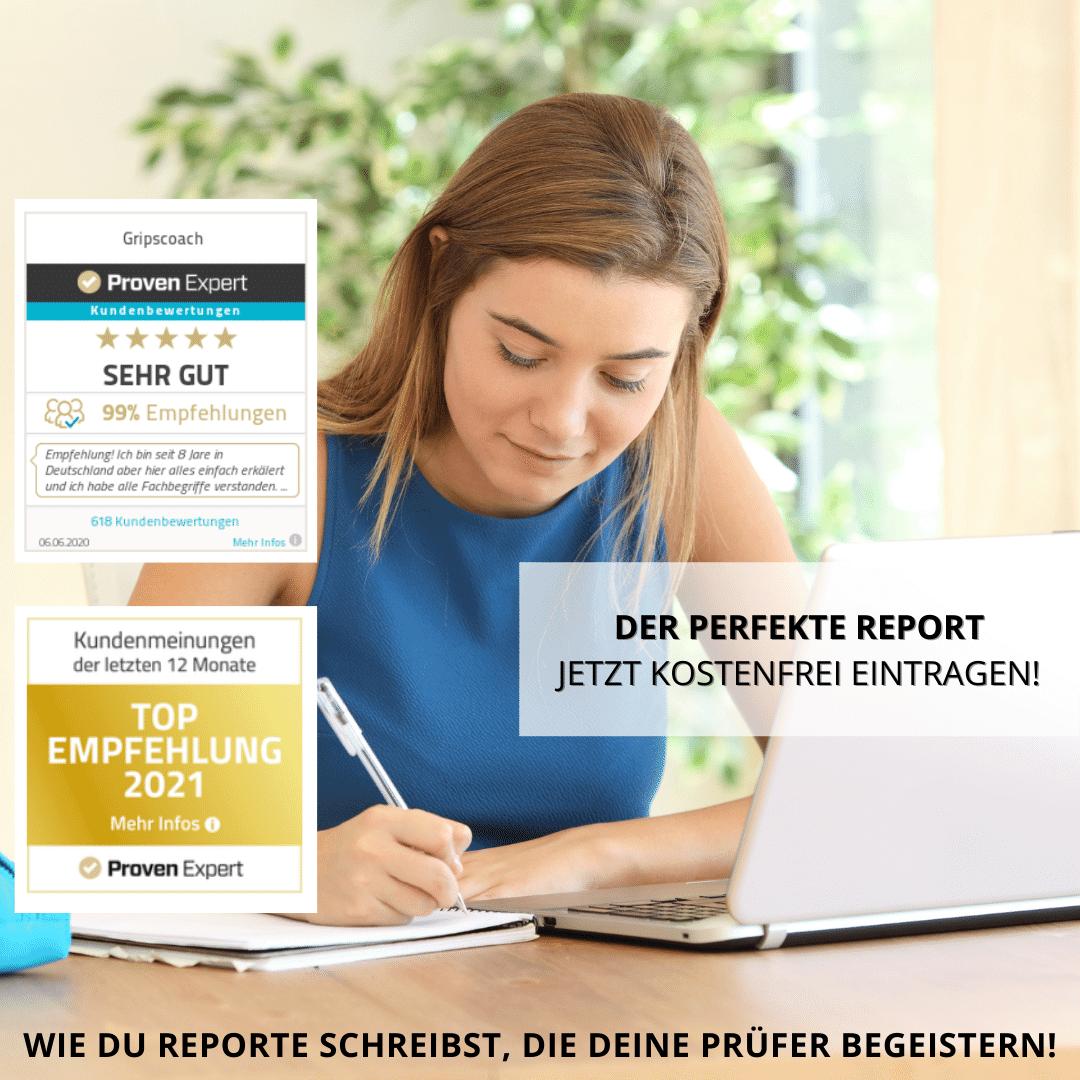 Gäste-Liste von Der perfekte Report - Gripscoach Live-Webinar