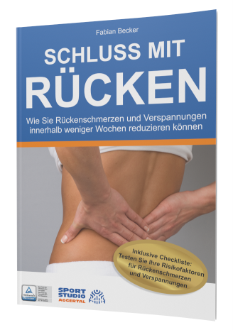 Buchcover Schluss mit Rücken